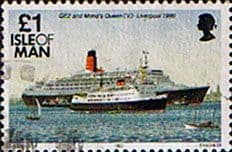 Postage Stamps Isle of Man 1993 Ships SG 555 Fine Used