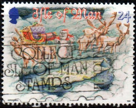 Postage Stamps Isle of Man 1996 Tourist Trophy Motorcycle Races SG 706 Fine Used