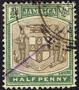 Jamaica 1903 Coat of Arms SG 33 Fine Used