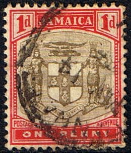 Jamaica 1903 Coat of Arms SG 34 Fine Used