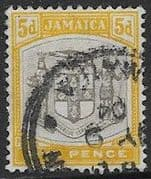 Jamaica 1903 Coat of Arms SG 36 Fine Used