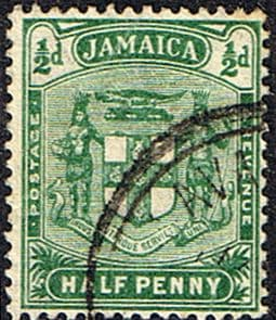 Jamaica 1905 Coat of Arms SG 38a Fine Used