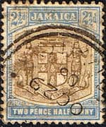 Jamaica 1905 Coat of Arms SG 41 Fine Used
