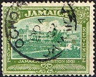 Jamaica 1919 SG  78 Exhibition of 1891 Fine Used