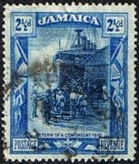 Jamaica 1921 SG  95a War Contingent Return Fine Used