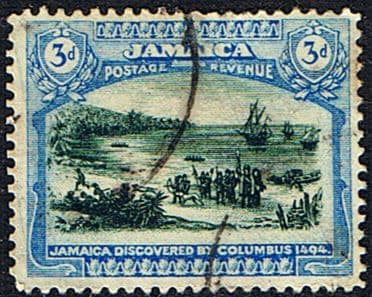 Jamaica 1921 SG  96a Discovery by Columbus Fine Used