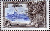 Jamaica 1935 King George V Silver Jubilee SG 115 Fine Used