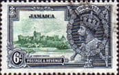 Jamaica 1935 King George V Silver Jubilee SG 116 Fine Used