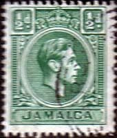 Jamaica 1938  SG 121 King George VI Fine Used