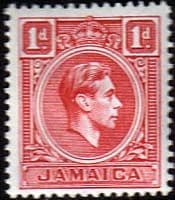 Jamaica 1938 SG 122 King George VI Fine Mint