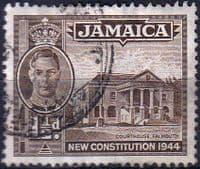 Jamaica 1945 New Constitution SG 134a Fine Used
