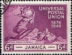 Stamps of Jamaica 1949 Stamps Universal Postal Union S148 Fine Used Scott 145