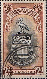 Stamps Jamaica 1951 British West Indies University College SG 149 Fine Used Scott 146