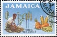 Jamaica 1963 Freedom From Hunger SG 201 Fine Used
