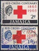 Jamaica 1963 Red Cross Centenary Set Fine Used
