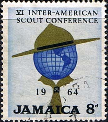 Jamaica 1964 SG 234 Scout Conference Fine Used