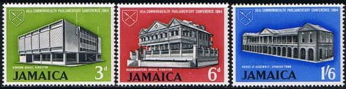 Jamaica 1964 SG 236 - 8 Commonwealth Conference Fine Mint