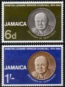 Jamaica 1966 Churchill Set Fine Mint