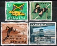 Jamaica 1966 Royal Visit Set Fine Used