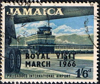 Jamaica 1966 SG 251 Royal Visit Airport Fine Used