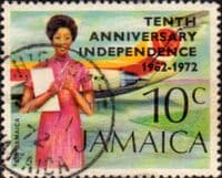 Jamaica 1972 Independence SG 360 Fine Used