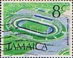 Jamaica 1972 SG 350 National Stadium Fine Used