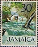 Jamaica 1972 SG 355 Dunns River Falls Fine Used