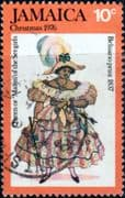 Jamaica 1976 Christmas SG 421 Fine Used