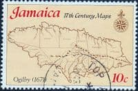 Jamaica 1977 17th Century Maps SG 426 Fine Used
