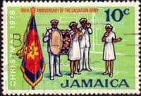 Jamaica 1978 Christmas Salvation Army SG 456 Fine Used