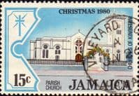 Jamaica 1980 Christmas SG 503 Fine Used