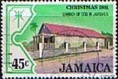 Jamaica 1981 Christmas Churches SG 538 Fine Used