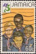 Jamaica 1982 Boy Scout Movement SG 548 Fine Used
