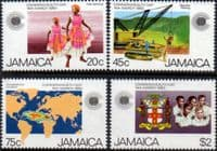 Jamaica 1983 Commonwealth Day Set Fine Mint