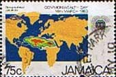 Jamaica 1983 Commonwealth Day SG 577 Fine Used