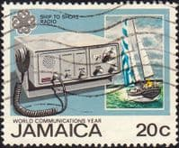 Jamaica 1983  World Communications Year SG 586 Fine Used