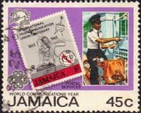 Jamaica 1983  World Communications Year SG 587 Fine Used
