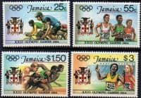Jamaica 1984 Olympic Games Set Fine Mint