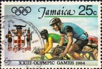 Jamaica 1984 Olympic Games SG 600 Fine Used