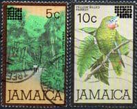 Jamaica 1984 Surcharged Set Fine Used