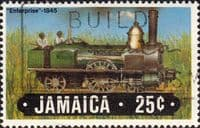 Jamaica 1984 Trains SG 612 Fine Used