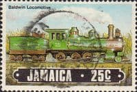 Jamaica 1985 Trains SG 634 Fine Used