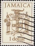 Jamaica 1987 Coat of Arms SG 690 Fine Used