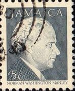 Jamaica 1987 Portraits Norman Manley SG 676A  Fine Used