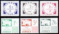 Jersey 1969 Post Due Set Fine Mint