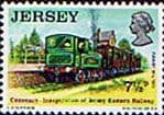Postage Stamps Stamp Jersey 1973 Eastern Railway Trains Fine Mint SG 95 Scott 87