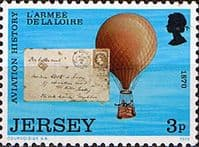 Jersey 1973 Jersey Aviation History SG 89 Fine Mint