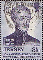 Jersey 1974 150th Anniversary of R.N.L.I. SG 112 Fine Used