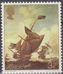 Postage Stamps Stamp Jersey 1974 Marine Paintings Set Fine Mint SG 115 Scott 103