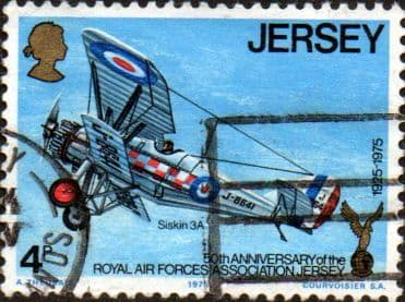 Jersey 1975 Royal Air Forces Association SG 133 Fine Used